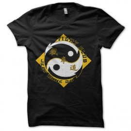 ying yang fight club t-shirt