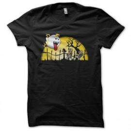 mario ghostbusters t-shirt