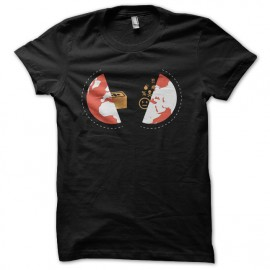 tee shirt angry heart