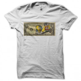 tee shirt simpson homer duff billet dollar