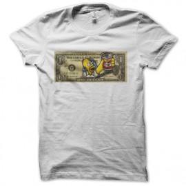 Simpsons homer duff ticket dollar t-shirt