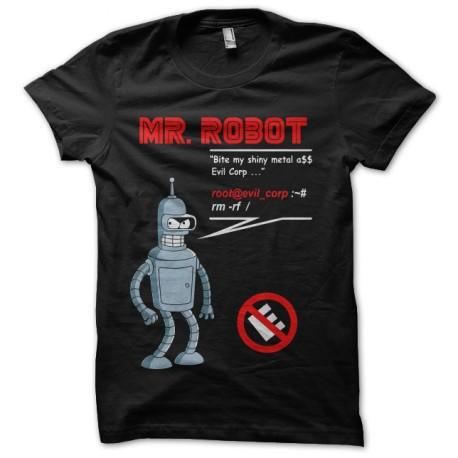 tee shirt bender mr robot