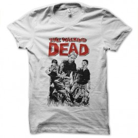 tee shirt walking dead cartoon