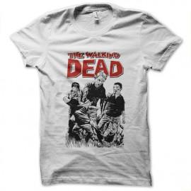 walking dead cartoon t-shirt