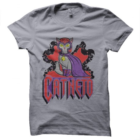 tee shirt catneto is magneto