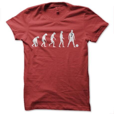 t-shirt evolution of ronaldo