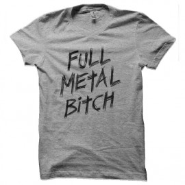 tee shirt full metal bitch edge of tomorrow