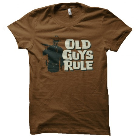 tee shirt john wayne old guy