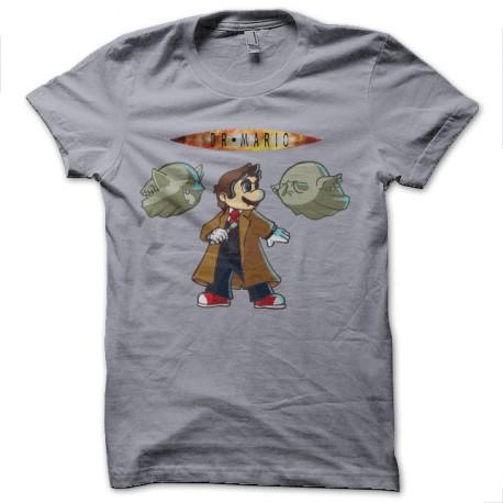 tee shirt docteur who mario