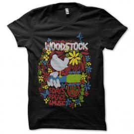 tee shirt woodstock festival anniversaire