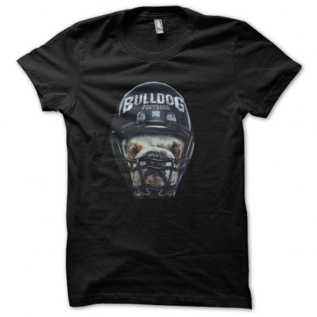 tee shirt bulldog football americain