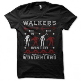 walking dead christmas t-shirt
