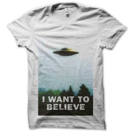 i want to believe x-files original t-shirt