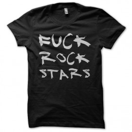 tee shirt fuck rock stars