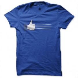tee shirt facebook est wolverine