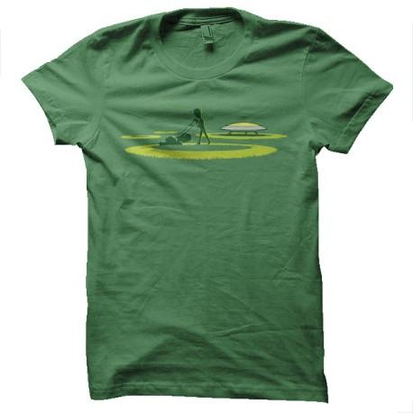 crop fields of crop circle t-shirt