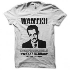 tee shirt wanted sarkozy