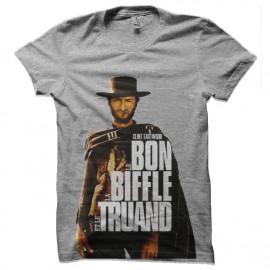 tee shirt le bon la biffle et le truand