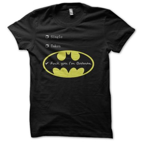 fuck you i am batman t-shirt