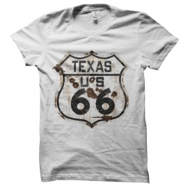 tee shirt route 66 texas
