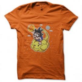 tee shirt songoku nuage magique