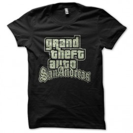 tee shirt gta san andreas grand theft auto