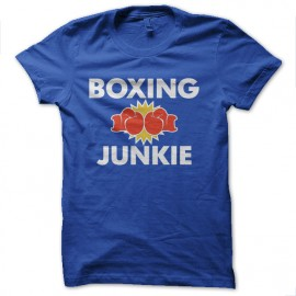 Boxing junkie t-shirt