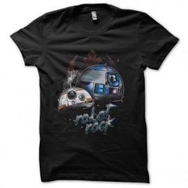 tee shirt robots back star wars style daft punk