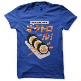 tee shirt sushi octopusy