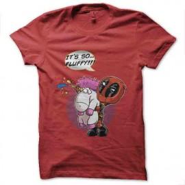tee shirt deadpool licorne humour