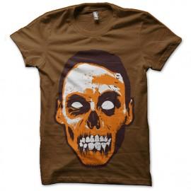 tee shirt tete de zombis