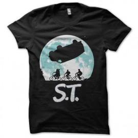 tee shirt stranger things parodie et