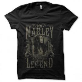 tee shirt bob marley rebel musique