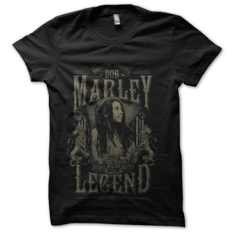t-shirt bob marley rebel music