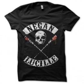 tee shirt negan lucille walking dead