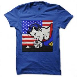 tee shirt superman et cocaine