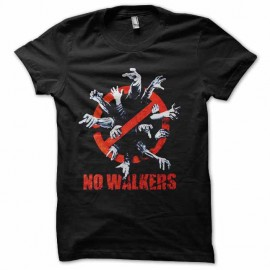 tee shirt no walkers walking dead