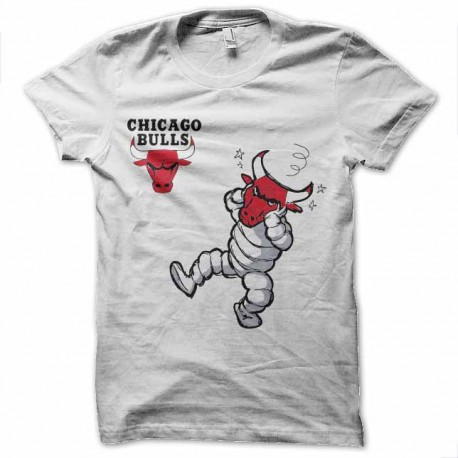 tee shirt chicago bulls vs vache qui rit