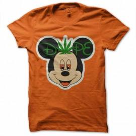 tee shirt mickey dope ganja