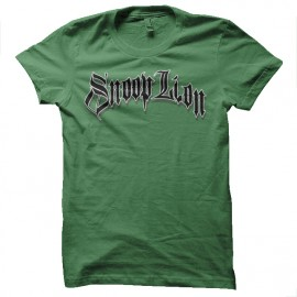 Snoop Lion t-shirt