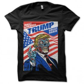 tee shirt donald trump zombie