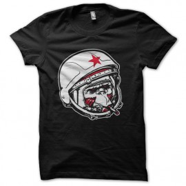 Monkey Communist astronaut t-shirt
