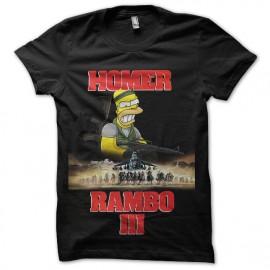 tee shirt rambo homer simpson
