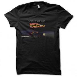 tee shirt maniac mansion retour vers le futur