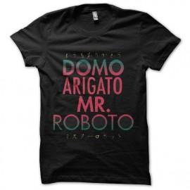 tee shirt mr roboto arigato