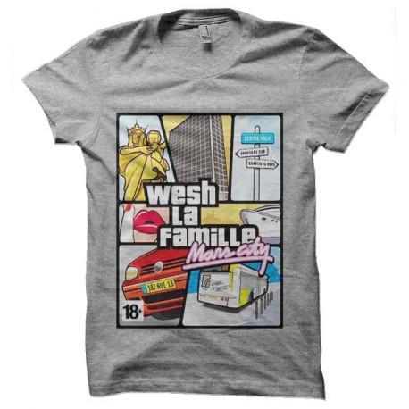 tee shirt Marseilles gta wash