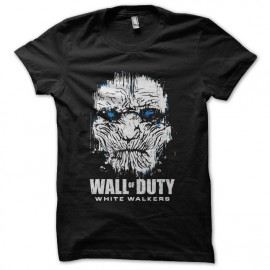 wall of dutty walkers got white t-shirt