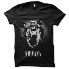 tee shirt nirvana cobain trame