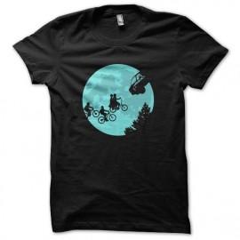 tee shirt stranger things parodie et l extra terrestre