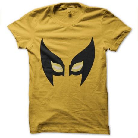 t-shirt wolverine mask